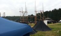 R/R Jurte und Lagerkonstruktionen