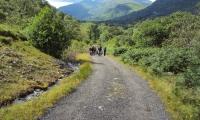 Den Pfad in Schottland finden